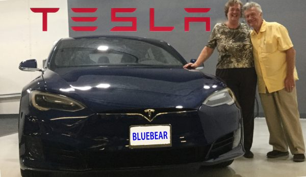 Sept 2, 2016 - picked up our new Tesla